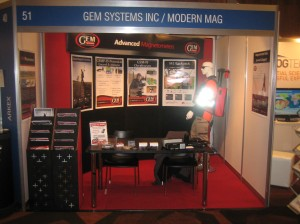 Modern Mag at the ASEG conference in 2013